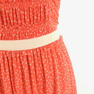 Anthropologie Dresses - Postmark Polka Dot Mesh Mini Dress